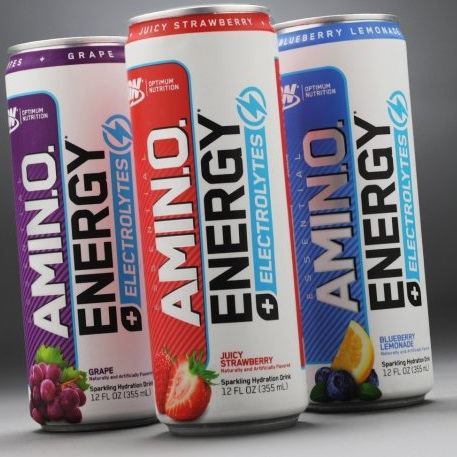 Optimum Nutrition S Amino Energy Carbonated Rtd Enters The