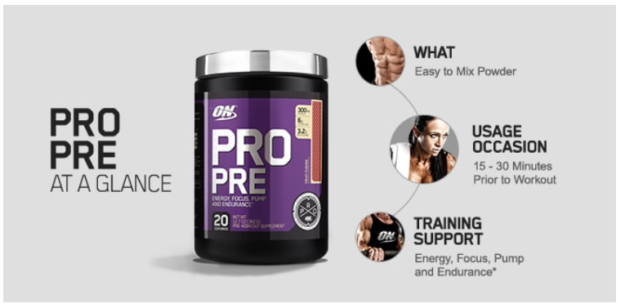 Optimum Nutrition Pro Pre Glance