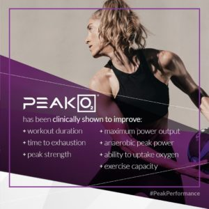 PeakO2 Benefits