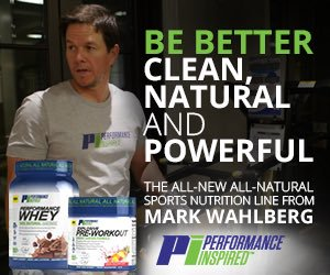 Performance Inspired Mark Wahlberg