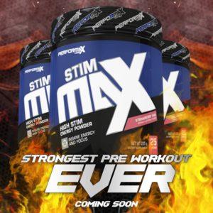 Performax Labs StimMax Coming Soon