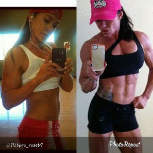 Taking SlinMax can help you get the chiseled abs you've always wanted, just like Performax Sponsored Athlete Rose.
