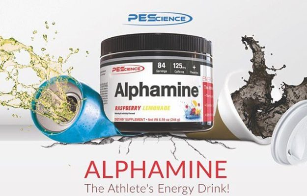 PES Alphamine Energy Drink
