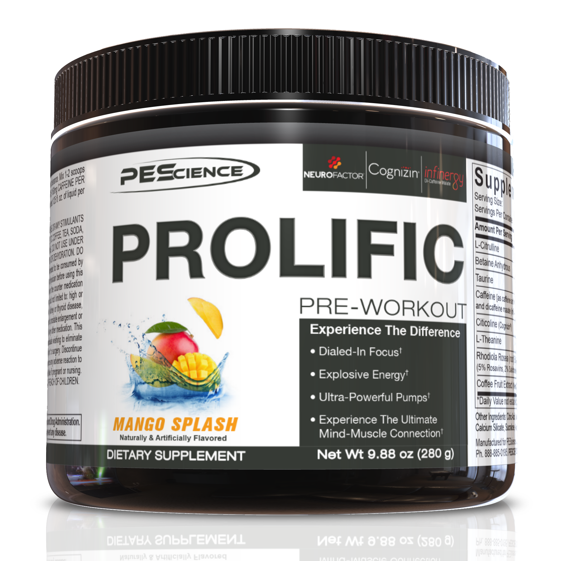 PES Prolific – PEScience is Back in the Pre Workout game!