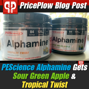 PEScience Sour Green Apple Tropical Twist PricePlow