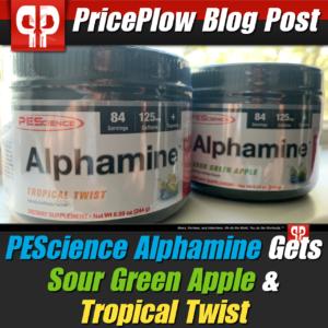 PEScience Sour Green Apple Tropical Twist PricePlow