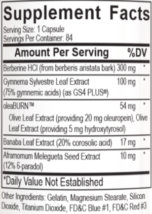 PEScience LipoVate Ingredients