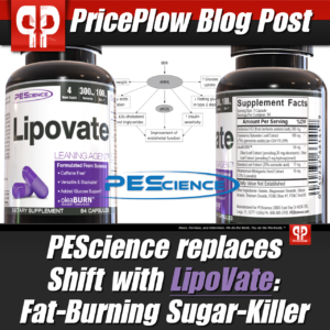 PEScience LipoVate PricePlow