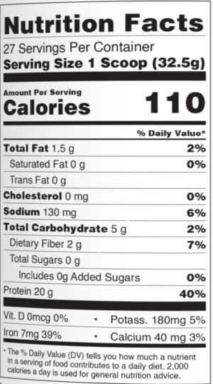 PEScience Mint Chocolate Select Vegan Ingredients