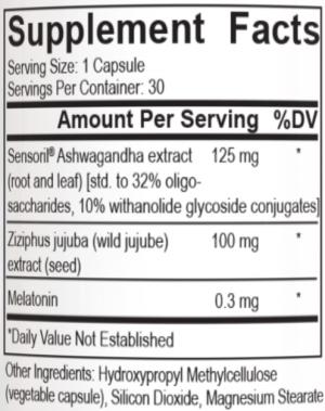 PEScience REM-3 Ingredients
