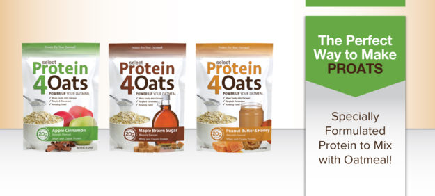 Select Protein 4 Oats Banner