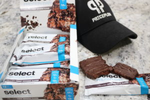 PEScience Select Protein Bars Chocolate Fudge Brownie
