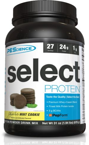 PEScience Select Protein Chocolate Mint Cookie