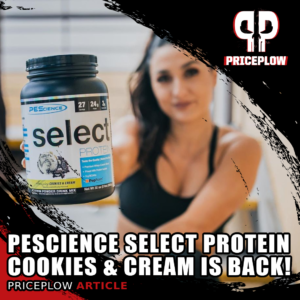 PEScience Select Protein Cookies & Cream