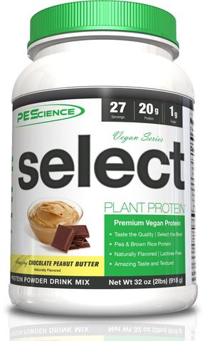 PEScience Select Vegan Chocolate Peanut Butter