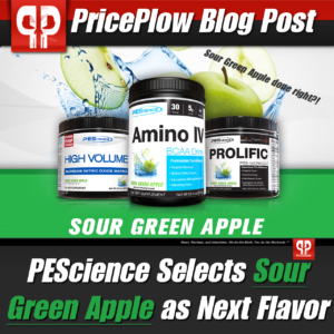 PEScience Sour Green Apple PricePlow