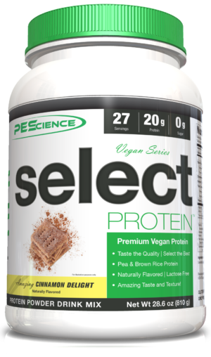 PEScience Vegan Select Protein Cinnamon Delight