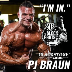 PJ Braun Natural Body Inc Block Party