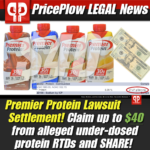 Premier Protein Lawsuit