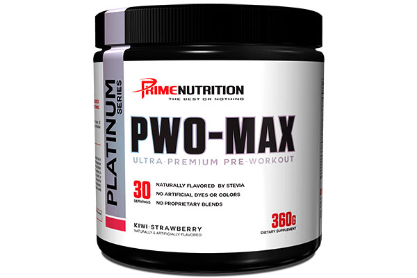 PWO-MAX: Prime Nutrition's MONSTER Reformulation