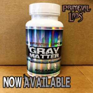 Primeval Labs Gray Matter Available