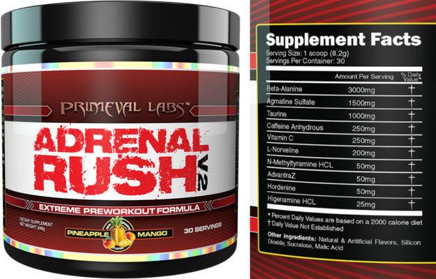 Primeval Labs Adrenal Rush