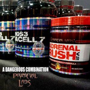 Primeval Labs Adrenal Rush V2 Combination