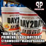 Primeval Labs Day2Day Strawberry Mango Banana