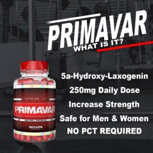 Primeval Labs Primavar Info