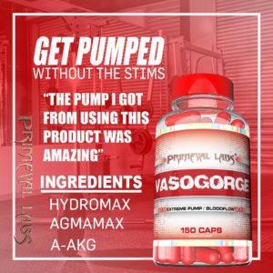 Primeval Labs Vasogorge Pumped