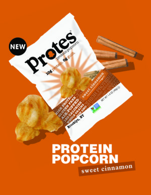 Protes Protein Popcorn Sweet Cinnamon