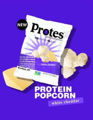 Protes Popcorn White Chedder