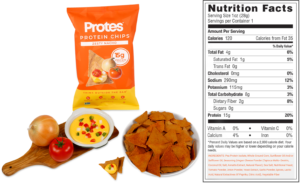 Protes Vegan Protein Chips New Formula and Label