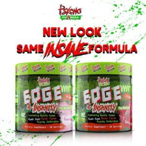 Psycho Pharma Edge of Insanity New Look