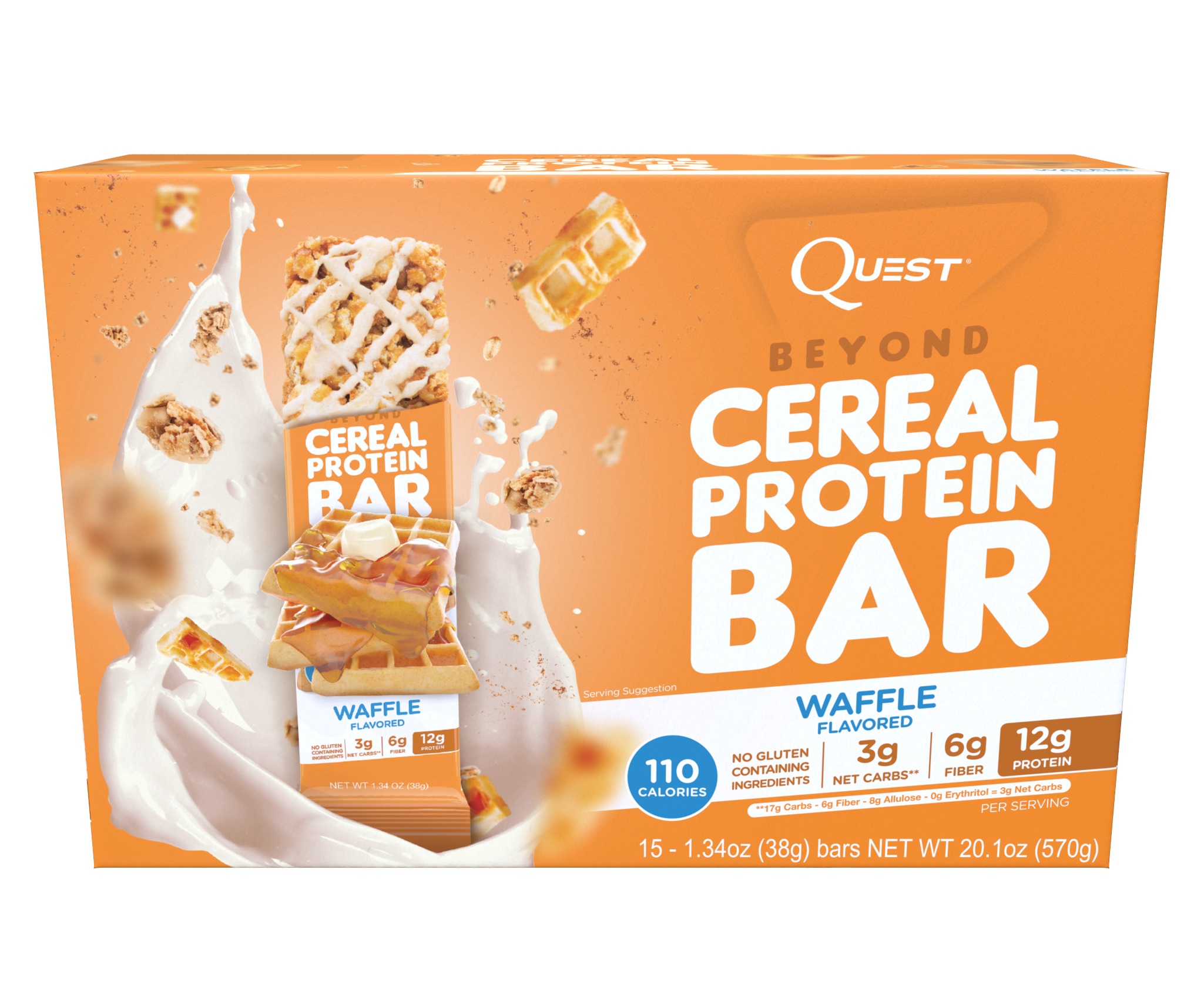 Quest Beyond Cereal Bars: New Bars With A New Sweetener