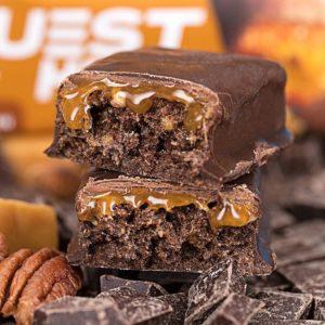 Quest Hero Bar Chocolate Caramel Pecan