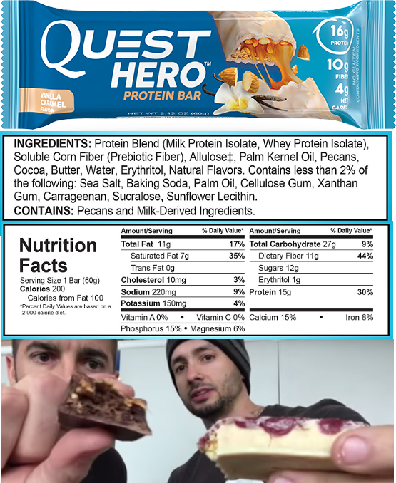 Quest's Over-Hyped HERO BAR Fails to