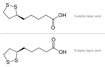 R-ALA vs. ALA