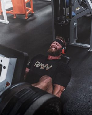 RAW Athlete Leg Press