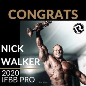 RAW IFBB Nic Walker