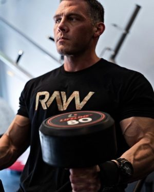 RAW Nutrition Athlete Dumbbells