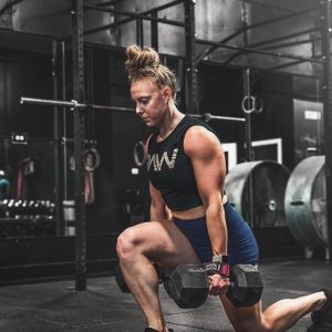 RAW Nutrition Female Athlete Gym