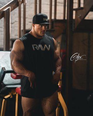 RAW Nutrition Nick Walker Gym