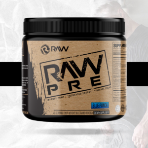 RAW Nutrition Pre-Workout Graphic