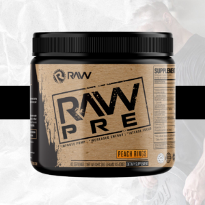RAW Nutrition PRE Peach