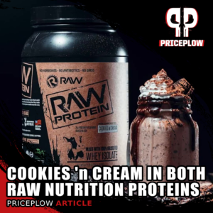 Raw Nutrition Protein Cookies n' Cream