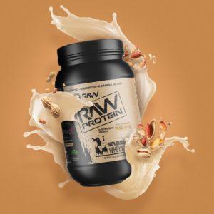 RAW Nutrition Protein Peanut Butter Splash