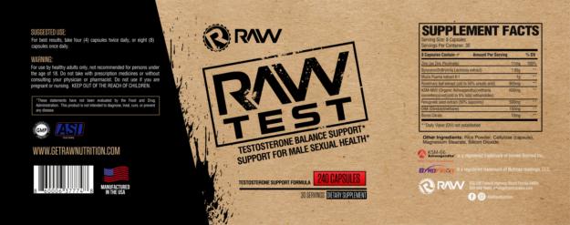 Raw Test Label