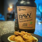 RAW Nutrition Vegan Protein Powder Peanut Butter