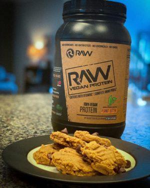 RAW Nutrition Vegan Protein Powder Peanut Butter